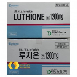 Dung dịch truyền trắng da Luthione